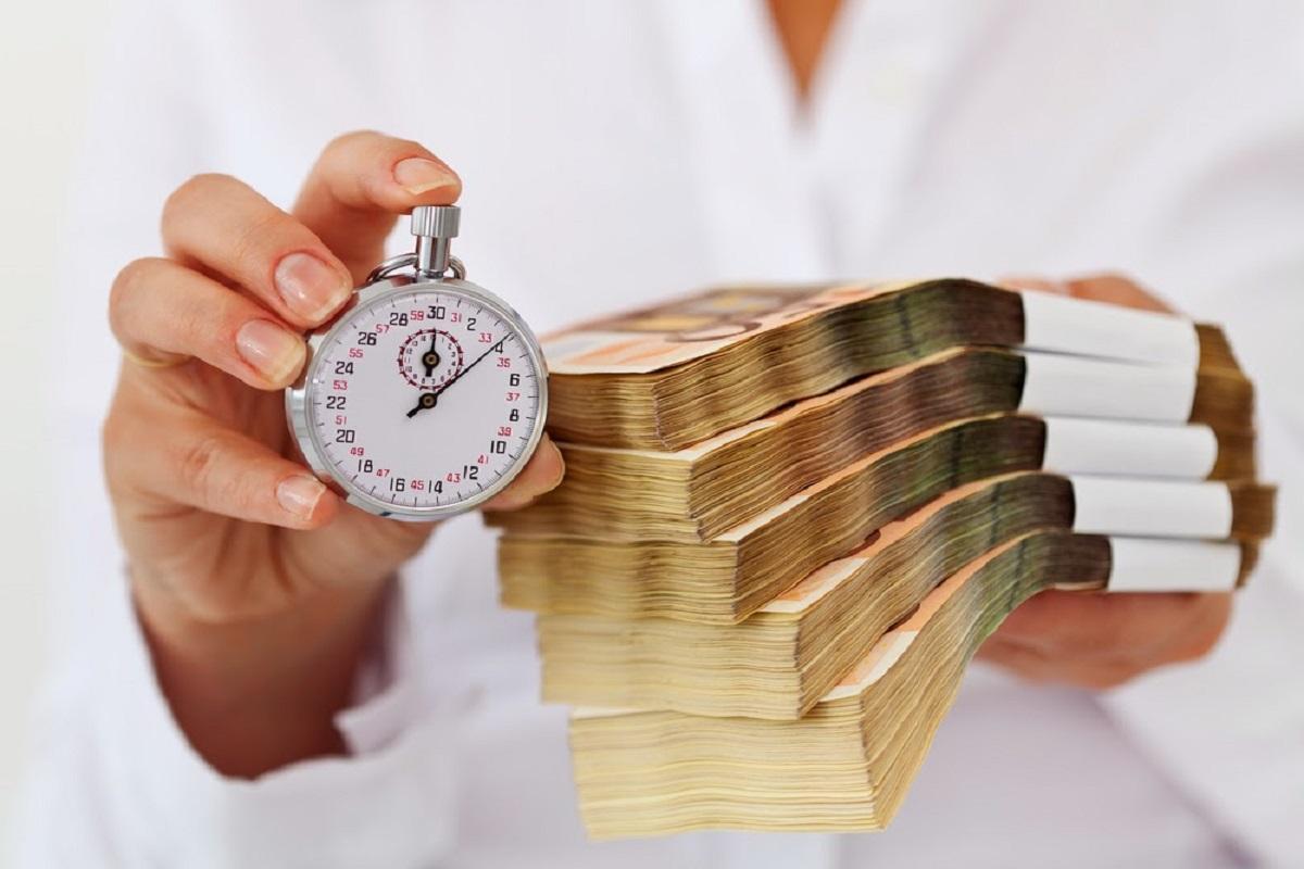 получение наличными краткосрочного займа
