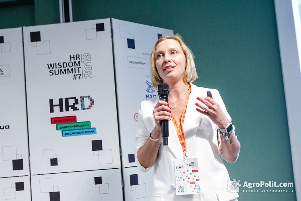 Катерина Корченко, керівник відділу внутрішніх та зовнішніх комунікацій МХП