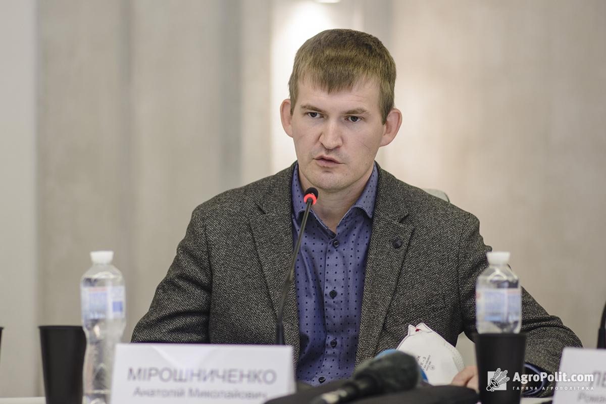 Анатолій Мірошниченко, перший заступник голови Державної служби України з питань геодезії, картографії та кадастру